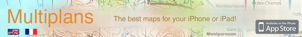 Multiplans - use the best maps into your iPhone or iPod Touch